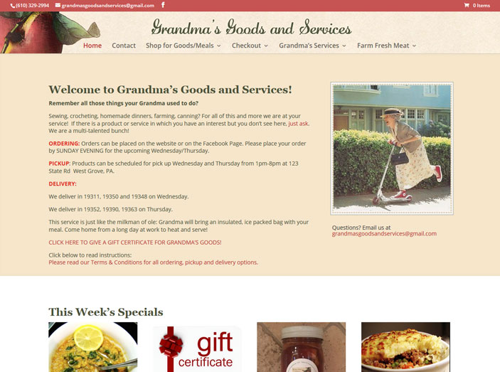 Grandma's Goods and Services