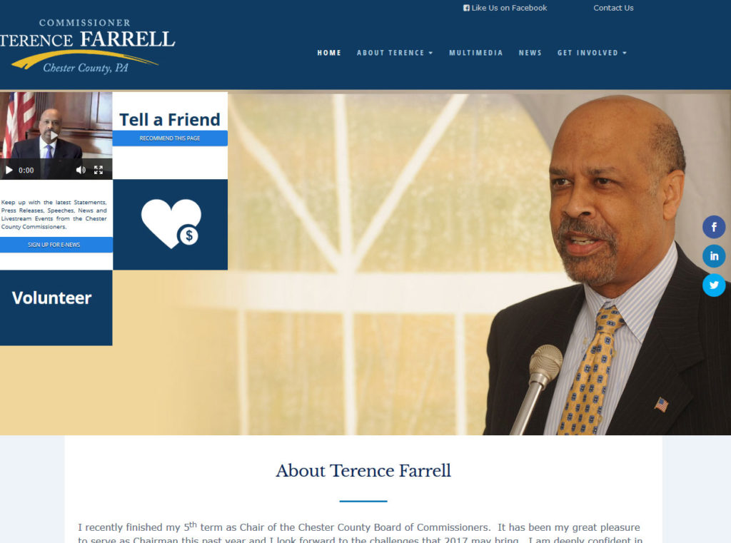Commissioner Terence Farrell